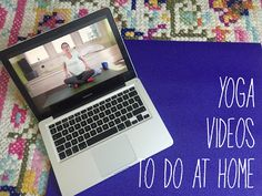 SUNSHINE & GLOW: Yoga videos to do at home