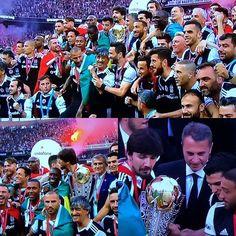 Resmi olarak ŞampiyONBEŞiktaş! #Beşiktaş #Şampiyon #Turkish #League #Champions #1903 #Siyah_Beyaz #Karakartal