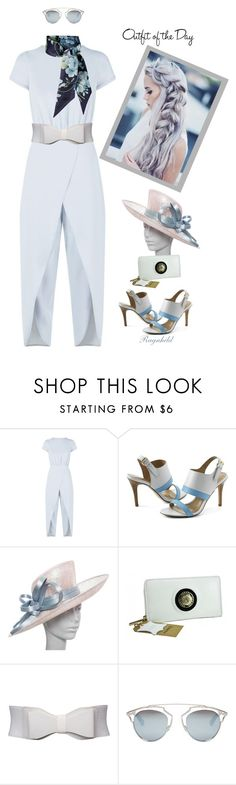 """""""Outfit of the Day  June 30th"""" by ragnh-mjos ❤ liked on Polyvore featuring Reiss, Lands' End, Philip Treacy, Christian Dior, Gucci, Petit Bateau, outfit, Fereti and June2016"""