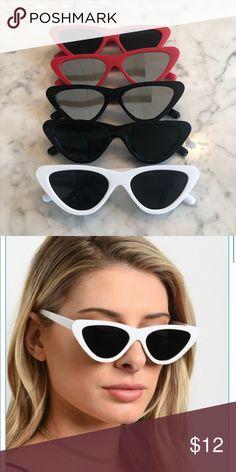 0ee8df8120ef Trendy 2018 Triangle Cat Eye Sunglasses