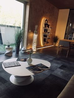 I prodotti della collezione #Plectrum, ideata dall'Architetto Stefania Tieri per Boffetto, presso lo showroom di una nota azienda d'arredamento.  Grazie #RestructuraSrl! Showroom, Table Settings, Projects, Design, Note, Log Projects, Blue Prints, Place Settings, Fashion Showroom