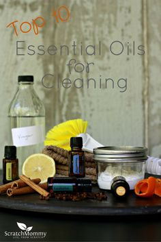 Top 10 Organic Essential Oils for Cleaning