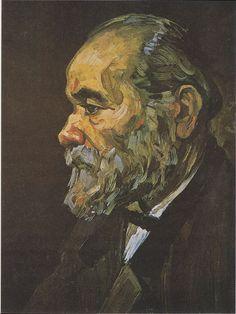 Van Gogh - Bildnis eines alten Mannes mit Bart, 1885