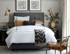 Dwell Beautiful finds budget look-alike furniture and decor pieces for a Williams-Sonoma Bedroom as part of her popular Get the Look for Less series!