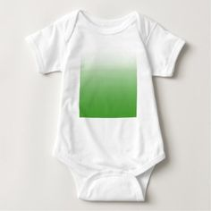 Abstract  - green. baby bodysuit - white gifts elegant diy gift ideas
