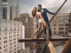 Suitsupply Fall/Winter '12 Campaign by Carli Hermes.