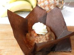 Hummingbird Muffins with Cacao Butter Icing (Paleo SCD)