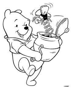 Pooh y bote de miel con sorpresa