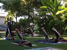 E komo mai to Gentle Yoga with Tommy Jones. Tomorrow (Saturday) at Nona Lani Cottages hale. Class starts at 9am. Namaste!