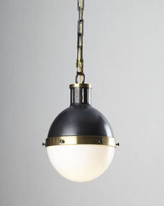 Large Hicks Two-Light Pendant by Visual Comfort at Neiman Marcus.