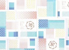 tegusu 「田舎暮らしは季節模様」書籍デザイン #パターン