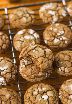 These small and chewy spice cookies (pfeffernusse) are rolled in powdered sugar and feature a delicious assortment of spices. This version is dairy-free.