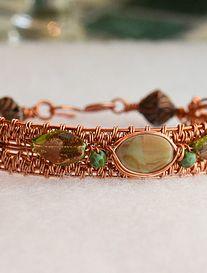 Handmade Wire, Handmade Jewelry, Gold Rings, Swarovski, Beaded Bracelets, Beads, O Beads, Beading, Pearl Bracelets