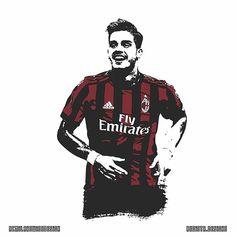 @andresilva9 ⚫️ ----- Design by @regista.designs ----- #vsco #illustration #photography #design #designer #art #artist #calcio #soccer #football #milan #milano #rossoneri #rossonero #milanista #acm #acmilan #love #instagood #photooftheday #picoftheday #instadaily #weareacmilan #acmswiss #forzamilan ⚫#registadesigns