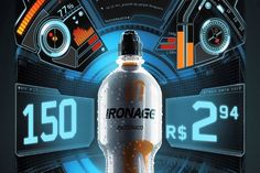 IronAge - Pulse Machine. A vending machine that rewards your effort.  The more you struggle, the bigger the discounts you get.