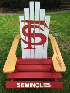 CarsonNewman Eagles custom Adirondack chair Giant Babys
