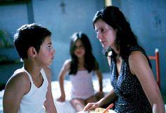 Hier zie je de moeder van Michele en Maria.