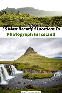 If you are looking for some of the most beautiful Iceland photography locations, you can find them all around Iceland's ring road. These are 25 of the most stunning places to photograph in Iceland and they are perfect to add to your Iceland road trip itinerary or the perfect stop for any trip to Iceland. Plan your trip to Iceland with these iceland photography locations! #iceland #traveltips #icelandphotography #icelandic #photography #landscapes #travel #landscapephoto #kirkjufell…