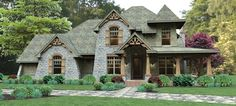 DREAM HOME! Craftsman House Plan with 2487 Square Feet and 3 Bedrooms from Dream Home Source | House Plan Code DHSW076583