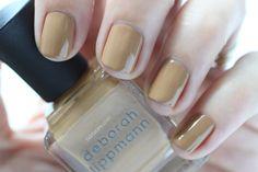 Deborah Lippmann Painted Desert Summer 2015 Swatch Swatch Terra Nova Camel Nail Polish