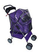 BestPet 4Wheel Pet Stroller Classic Purple -- Want additional info? Click on the image.