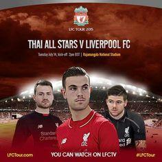 Liverpool vs Thailand All Stars 4-0