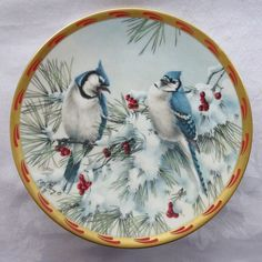 LENOX 'Winter Song' Collector Plate