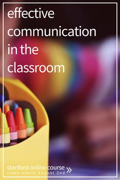 Effective Communication in the classroom. Stanford online course starting on August Find out how to enroll today! School Readiness, School Counseling, Behavior Management, Classroom Management, Classroom Posters, Classroom Ideas, Preschool Behavior, 7th Grade Social Studies, Math Talk