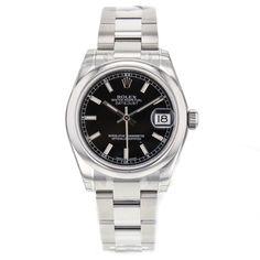 Rolex DateJust Mid-Size 31mm 178240 Stainless Steel Automatic Wrist Watch #Rolex #LuxurySportStyles