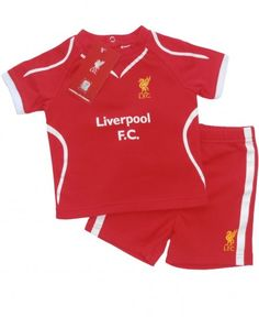 17ac2c3bd Liverpool Baby Kit T-Shirt  amp  Shorts Set - 2014