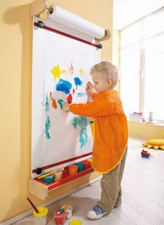Chevalet de peinture - Libérer la créativité - Invitation à l'éveil sensoriel - Haba petite enfance - Habermaaß GmbH