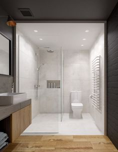 Casas de banho minimalistas por INT2architecture
