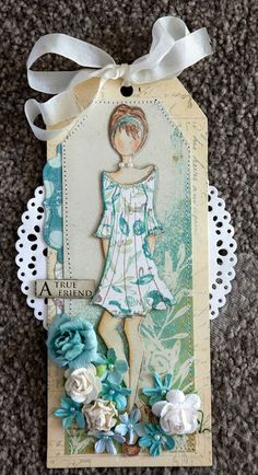 Creative Mayhem: Prima Mixed Media Doll Stamps - Peasant Doll by Julie Nutting