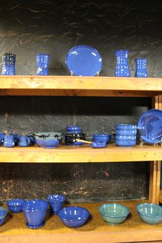 Jud Tanja's Pottery, suite 124. Open tonight! 5-9pm