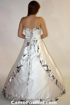 Marvelous Camouflage Wedding Dresses For Cheap | ... Wedding Attire On Mossy Oak New  Breakup