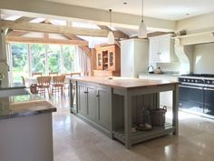 Gorgeous Modern Country Kitchen Walls In Farrow And Ball Shaded White Click Through For Details On Style