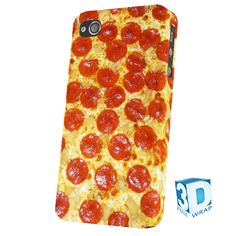 Pizza Pepperoni iPhone 345 Samsung S234 Phone Cover Case Funny Retro Food Cool | eBay