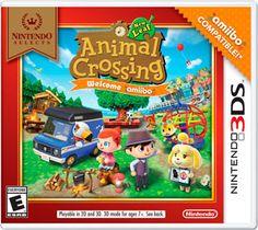 Descargar Animal Crossing New Leaf: Welcome Amiibo Retail Game 3DS en Español por Mega y Mediafire