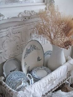 Enthralling stored french country shabby chic home browse this site Shabby Chic Mode, Cocina Shabby Chic, Shabby Chic Kitchen, Shabby Chic Cottage, Shabby Chic Style, Shabby Chic Decor, Romantic Cottage, Cottage Style, Blue Shabby Chic