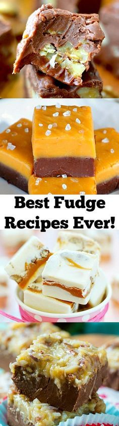 25 of the BEST Fudge Recipes EVER!
