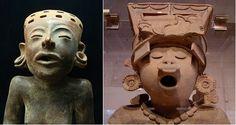 Ceramica en terracota,cultura totonaca
