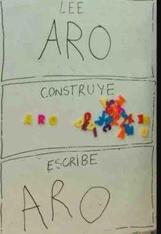 Conciencia Fonológica con materiales Montessori Reggio Classroom, Montessori Education, Class Decoration, Reggio Emilia, Dyslexia, Pre School, Learn English, Phonics, Teaching