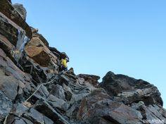 Plus de photos sur le blog de Grimpisme: http://www.escalade.pro/blog/dent-herens-arete-tiefmatten.htm
