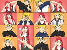<3 Minato & Kushina & Naruto <3