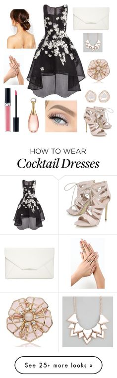 """""""Prom Queen"""" by diannacoleman on Polyvore featuring Jovani, Carvela, Style & Co., Orelia, Kate Spade, Kimberly McDonald, Full Tilt and Christian Dior"""