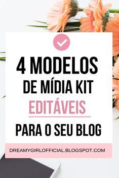 Faça o download de 4 mídia kit que são editáveis para usá-lo tanto no seu blog ou site e também no seu instagram quando tiver propostas de parcerias!  #blogueiras #dicas #marketing #instagram #instablog #instagramdicas #pinterestdicas #dicasparablogueiras #blogger #blogueira #youtuber #tumblr #empreendedorismo #seguidores #divulgação #marketingdigital #layouts #themes #flatlays #ideias #dicasparablogs #blogueiras #marketingdigital #instagram #bloggerlife #dicas #marketing Marketing Digital, Kit Design, Alta Performance, Youtube Hacks, Blog Love, It Network, Business Marketing, Inbound Marketing, Photo Tips