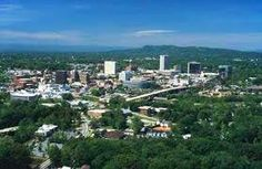 Greenville, SC  Home of my sis and her family, always fun to visit