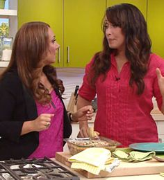"""Peggy K's Kitchen Cures: Make Everyday Meals A Little More Healthy. Take your classic, unhealthy dishes and """"Peggify"""" them to make them low-fat and low-calorie. Episode links inside."""