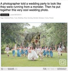 Funny cool wedding photo Funny Pictures Funny Quotes Funny Jokes Photos, Images, Pics is part of Wedding humor - Wedding Tags, Cute Wedding Ideas, Wedding Humor, Wedding Pictures, Perfect Wedding, Dream Wedding, Trendy Wedding, Wedding Stuff, Wedding Album