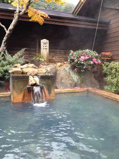hot spring in Totsukawa 十津川温泉